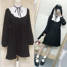"Kawaii lolita ruffled dress SE9092   Coupon code ""cutekawaii"" for 10% off"