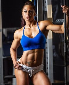 A picture of Jessica Reyes Padilla. This site is a community effort to recognize the hard work of female athletes, fitness models, and bodybuilders. Girls With Abs, Ripped Girls, Girls Fit, Fitness Motivation Pictures, Gym Motivation, Sport Fitness, Fitness Women, Female Fitness, Strong Women