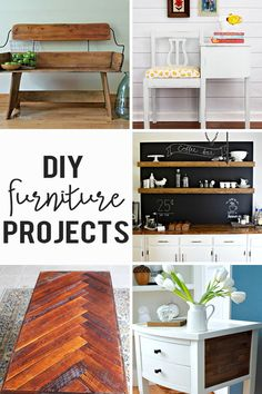 DIY Furniture Projects   Link Party