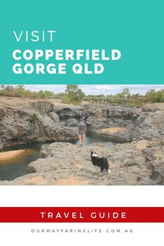 Copperfield Gorge in the remote town of Einasleigh on the Savannah Gulf in Queensland a chasm curved out by an ancient lava flow is stunning, free and dog friendly. Basalt Rock, Basalt Columns, Lava Flow, Free Things To Do, Public Transport, Australia Travel, Dog Friends, Us Travel, Road Trips