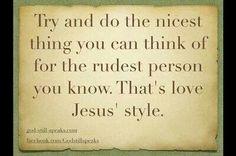 Love - Jesus Style!