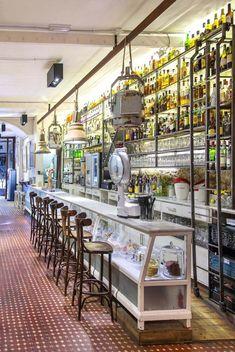 Original cafetería con el estilo vintage, nos encanta!