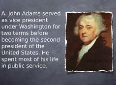 Second President John Adams Notes PowerPoint product from Make-History-Fun-Store on TeachersNotebook.com