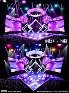 舞台设计 - 百度 Stage Lighting Design, Stage Set Design, Church Stage Design, Theatre Design, Booth Design, Event Design, Concert Stage Design, Dj Stage, Dj Setup