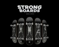 Strongboards by Petrick on Behance