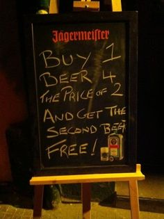 Buy one beer for the price of two!    More on:    http://igg.me/p/179226?a=901297  http://www.its-hilarious.com/  http://itunes.apple.com/us/app/funny-hilarious-jokes/id492166165?ls=1=8