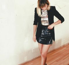 Style for Miles: Sequins for a Night Out