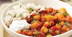 Recipe Clone of Moroccan Chickpea Stew - 316 cals by elizmac, learn to make this recipe easily in your kitchen machine and discover other Thermomix recipes in Main dishes - vegetarian. Vegetarian Recipes, Cooking Recipes, Healthy Recipes, Vegetarian Cooking, Vegetarian Stew, Cooking Lamb, Chilli Recipes, Top Recipes, Cooking Oil