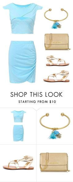 """summer set"" by im-karla-with-a-k ❤ liked on Polyvore featuring Cara, Breckelle's and Michael Kors"
