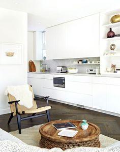 Open Concept Kitchen & Living Area | Photo Gallery: Sally Armstrongs Family Home | House & Home | photo Virginia Macdonald
