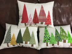 My version of a popular Christmas pillow