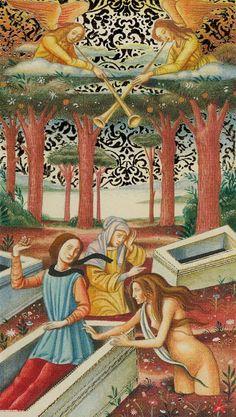 Judgement - Golden Botticelli Tarot