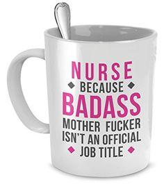 Mug Nurse gifts Nurse mug - Badass Nurse mug - Nurse coff...…