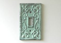 light switch cover  switch plate covers  by juxtapositionsc, $10.00