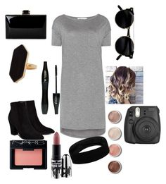 ☮☮☮☮ by graceha on Polyvore featuring polyvore, T By Alexander Wang, Billini, Jaeger, NARS Cosmetics, MAC Cosmetics, Terre Mère, Lancôme, fashion, style and clothing hope you like the outfit I made