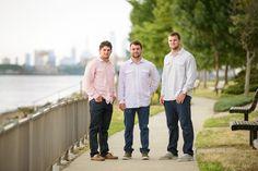 Sibling posing, posing brothers