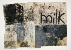 Oscar Murillo - Dark Americano 2012 Oil and dirt on canvas 304.8 x 429.3 cm