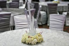 An icy centerpiece! #topthatevent