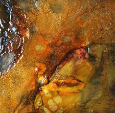 I love the visceral feel of the medium...  Visceral, encaustic painting ( part of a private collection )  encaustic artist, encaustic, encaustic details, encaustic painting, encaustic techniques, encaustic process, encaustic materials, encaustic art,