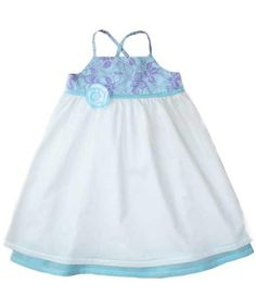 Another cute dress to do.