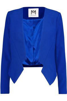 MillyCropped crepe blazer