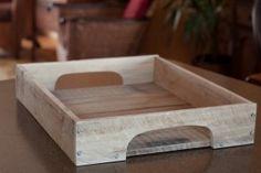 DIY pallet tray tutorial from studio50
