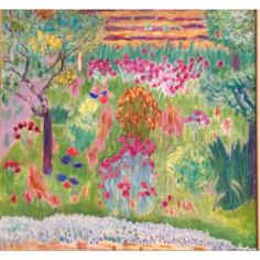 Pierre Bonnard, 'Garden' ca. 1935 (Metropolitan Museum of Art: 'The Stein's Collect: Picasso & the Parisian Avant-Garde')