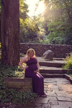 Outdoor maternity photography done in Canton, Ohio by Captured by Brittany Photography #maternity #pregnancy #photography