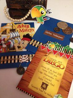 Invitacion jake y sus piratas