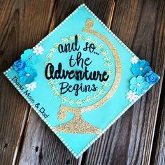 Unique Graduation Cap Ideas - Love this quote...and how the grad thanked Mom & Dad! #graduationcap #graduation Sorority Graduation, Graduation Quotes, Graduation Diy, Nursing Graduation, High School Graduation, Graduation Pictures, Graduation Invitations, Grad Pics, Graduation Announcements