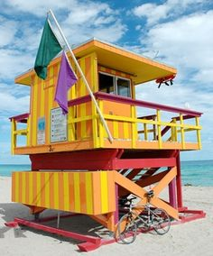 Even our lifeguard stations are hot