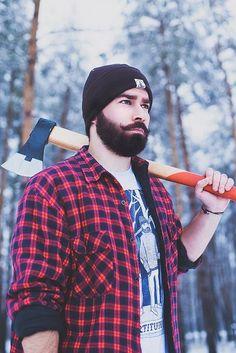 beard/handlebars