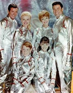 Lost in Space tv show -- we had to watch this back then!