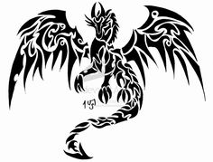 Celtic Dragon Tattoo | Dragon tattoo for the back by ~Sakashima on deviantART