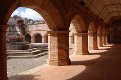 Arches La Merced Convent Antigua Guatemala