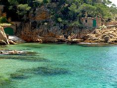 Tamariu Coast, Girona, Catalunya, Spain