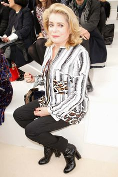 Louis Vuitton - Catherine Deneuve