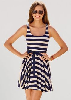 Would be cute with sleeves and a longer skirt. I like the concept :) Summer Date-night Dress