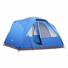Cheap SEMOO Water Resistant Lightweight 5 Person D-style Door Large Family Camping/Travelling Tent with Carry Bag deals week Tent Camping Beds, Best Tents For Camping, Cool Tents, Camping With Kids, Camping Gear, Outdoor Camping, Camping Cabins, Camping Stuff, Camping Equipment