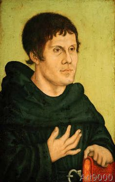 Lucas+Cranach+der+Ältere+-+Bildnis+Martin+Luther+als+Augustinermönch