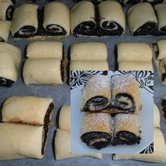 Csilla konyhája, mert enni jó!: Mákos és csokis kalács Hungarian Desserts, Hungarian Food, Hungarian Recipes, Sweet Cakes, Sushi, Favorite Recipes, Sweets, Bread, Vegan