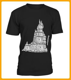 I Love Virginia  United States of America Word Cloud Graphic - 14 juli shirts (*Partner-Link)