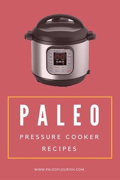 Paleo - Get this giant list of AIP and Paleo pressure cooker recipes here. You can use your instant pot to make these delicious recipes, including stews, desserts, and more. It's The Best Selling Book For Getting Started With Paleo Pressure Cooking Recipes, Slow Cooker Recipes, Crockpot Recipes, Delicious Recipes, Healthy Recipes, Healthy Food, Healthy Eating, Power Pressure Cooker, Instant Pot Pressure Cooker