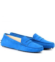 mytheresa.com - GOMMINI SUEDE LOAFERS - Luxury Fashion for Women / Designer clothing, shoes, bags