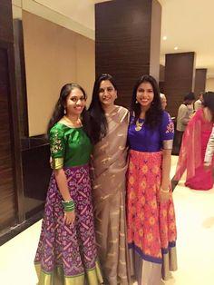 Order contact my whatsapp number 7874133176 Indian Attire, Indian Ethnic Wear, Salwar Designs, Blouse Designs, Indian Dresses, Indian Outfits, Chudidhar Designs, Lehenga Crop Top, Ikkat Dresses