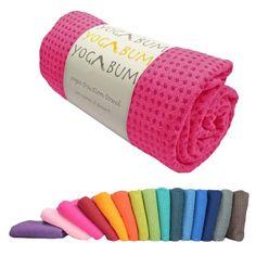 Yogabum rutschfeste Premium-Yoga-Matte Handtuch (Rose Red): Amazon.de 27,50 Euro