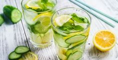 Weight Loss: Want to lose weight and get rid of belly fat? This drink, prepared using ginger root, dried mint, cucumber and lemon, will help you in weight loss. Here's what it does to your body to shed those kilos. Read on. Healthy Foods To Eat, Healthy Dinner Recipes, Diet Recipes, Healthy Snacks, Healthy Soda, Breakfast Low Carb, Take Me Away, Best Keto Meals, Cucumber Water