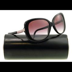 10/26 HP Bvlgari Limited Serpenti Sunglasses % Authentic NWOT Authentic Bvlgari 8105b purchased from Sunglass Hut. Limited edition/rare black frame with pink crystals. See pics for logo and laser inscription on lens for authenticity.  Bvlgari 8105B is a part of the Bvlgari Serpenti collection and has a black butterfly shaped frame. Has Serpenti scales that are encrusted with pink hand placed crystals. Lens(mm) : 59 Bridge(mm) : 16 Temple Length(mm) : 135  *Case has minor indents but is in…