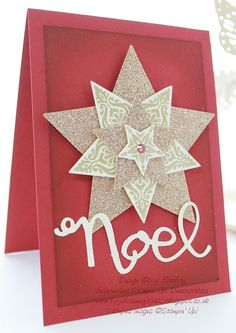 Bright and Beautiful, Stars Framelits, Champagne Glimmer Paper