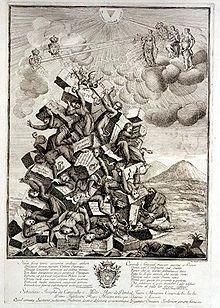 Expulsión de los jesuitas de Portugal en 1759 por el ministro Pombal (grabado de la época)